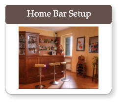 Home Bar Setup